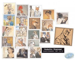 Recueil de 18 portraits