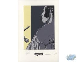 Geisha de profil