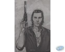 Portrait au pistolet