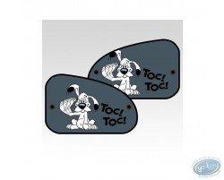 2 Pare-Soleil latéraux XL, Idéfix : 'Toc-Toc'