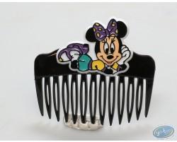Peigne noir Minnie couchée, Disney