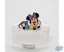 Peigne blanc Minnie couchée, Disney