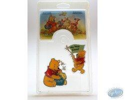 Set de 2 magnets, Winnie l'Ourson, Disney