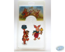 Set de 6 magnets, Winnie l'Ourson, Disney