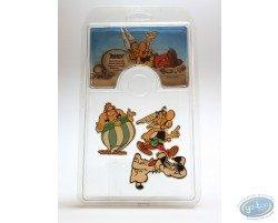 Assortiment de 3 broches Astérix, Obélix et Idéfix