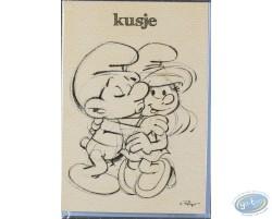 Carte double+enveloppe KUSJE