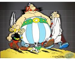 Astérix, Obélix, Panoramix et Idéfix
