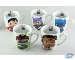 Série de 5 mugs décorés à l'effigie de vos supers héros