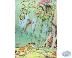 Le guépard et le nid du Marsupilami  - Poster N°6