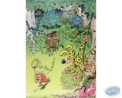 Le chasseur et le Marsupilami - Poster N°3