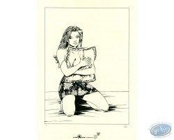 Femme agenouillée