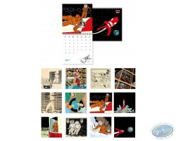 Calendrier Tintin 2019