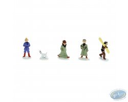 Mini série figurines - Tintin au Pays des Soviets