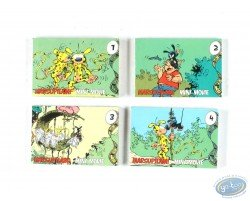 Flip book, Marsupilami Mini movie - Assortiment des 4 mini movies