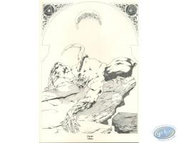 Loup-Garou (crayonné)