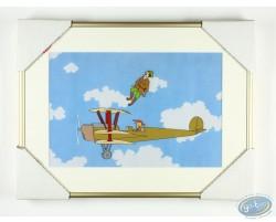 Cellulo original pour un dessin animé : Sidonie dans l'air