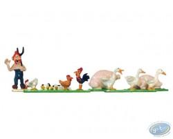 Mini village : animaux de la ferme
