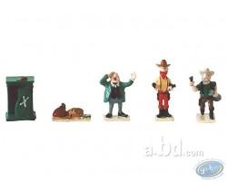 Mini ville : banque (personnages)