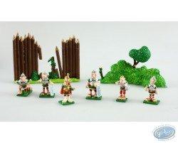 Mini banquet 4 : les Romains, Pixi