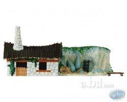 Mini village : maison et carrière d'Obélix