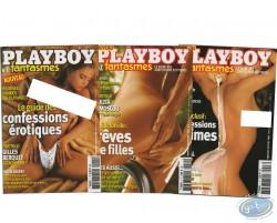Playboy fantasmes N°1-2-3