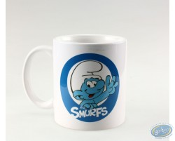 Mug Schtroumpf logo