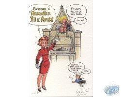 Cupidon hommage à Spirou