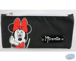 Trousse rectangulaire Minnie noire, Disney