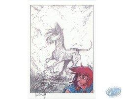 Percevan et le cheval