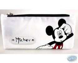 Trousse rectangulaire Mickey blanche, Disney