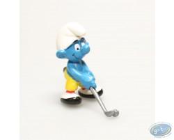 Schtroumpf golfeur