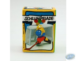 Schtroumpf gardien de hockey + boite
