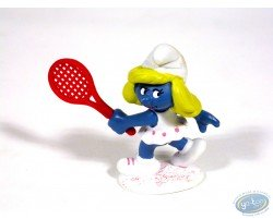 Schtroumpfette Tennis woman, Made in Portugal 1981