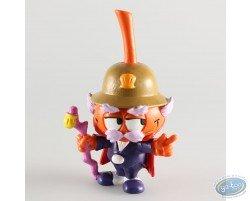 Gouverneur' Snorkie orange avec un casque