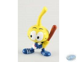 Astral' Snorkie jaune à étoile, joueur de baseball