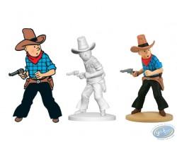 Tintin en cowboy, Tintin en Amérique Page 18 + album