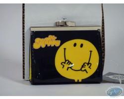 Porte-monnaie, vinyl, Mr Happy (Noire)