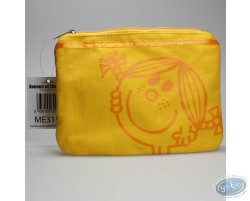 Trousse en tissu jaune, Little Miss Sunshine