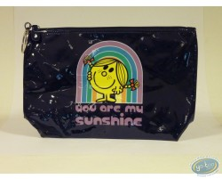 Grande trousse vinyle noire, Little Miss Sunshine : You are…