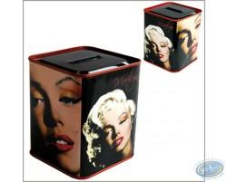 Tirelire métal, Marilyn Monroe