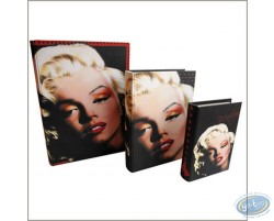 Set de 3 livres gigogne Marilyn Monroe