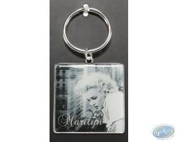 Porte-clé métal, Marilyn
