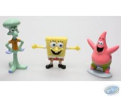Assortiment de 3 figurines Bob l'Eponge