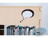 Mobilier, Bibliothèque 2 colonnes 'Skive' - kit 4