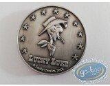 Médaille, Lucky Luke : Médaille La Diligence et billet Eurosouvenir Lucky Luke avec le même numéro