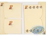Fourniture bureau, Spirou et Fantasio : Papier à lettres + enveloppes Spirou : Jaune