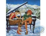BD prix mini, BD en 33 Tours : BD en 33 tours + ex-libris Dany + ex-libris Van Linthout aquarellé