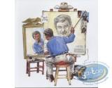 BD prix mini, BD en 33 Tours : BD en 33 tours + ex-libris Dany + ex-libris Roels aquarellé