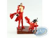 Figurine métal, Rapaces : Drago et sa soeur, Pixi
