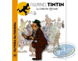 Statuette résine, Tintin : Oliveira Da Figueira, Les cigaresdu Pharaon Page 13 + album